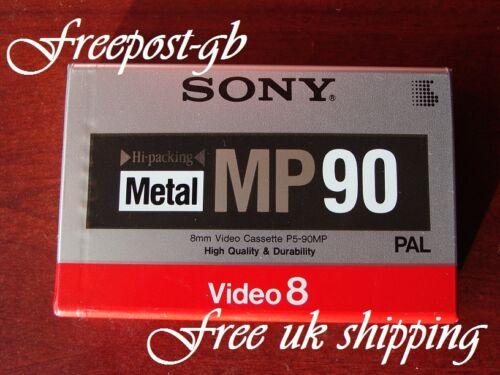 A Excelente SONY P5-90MP 8mm /& Hi8 Videocámara Cinta de partículas de metal//Cassette