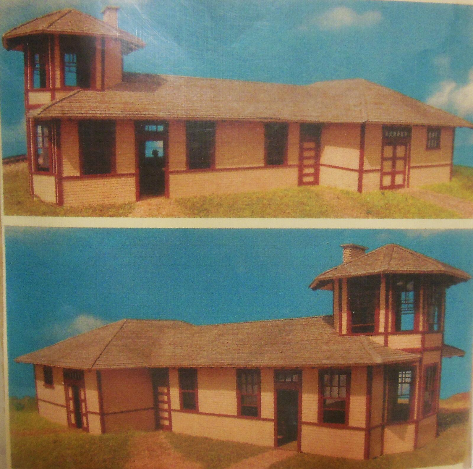 Junction City Depot Kit de corte láser por Gclaser-súper-escala HO-Top comprar