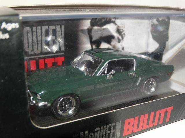 1:43 Yat Ming Ford Mustang GT Bullitt Steve McQueen 1968 darkgreen