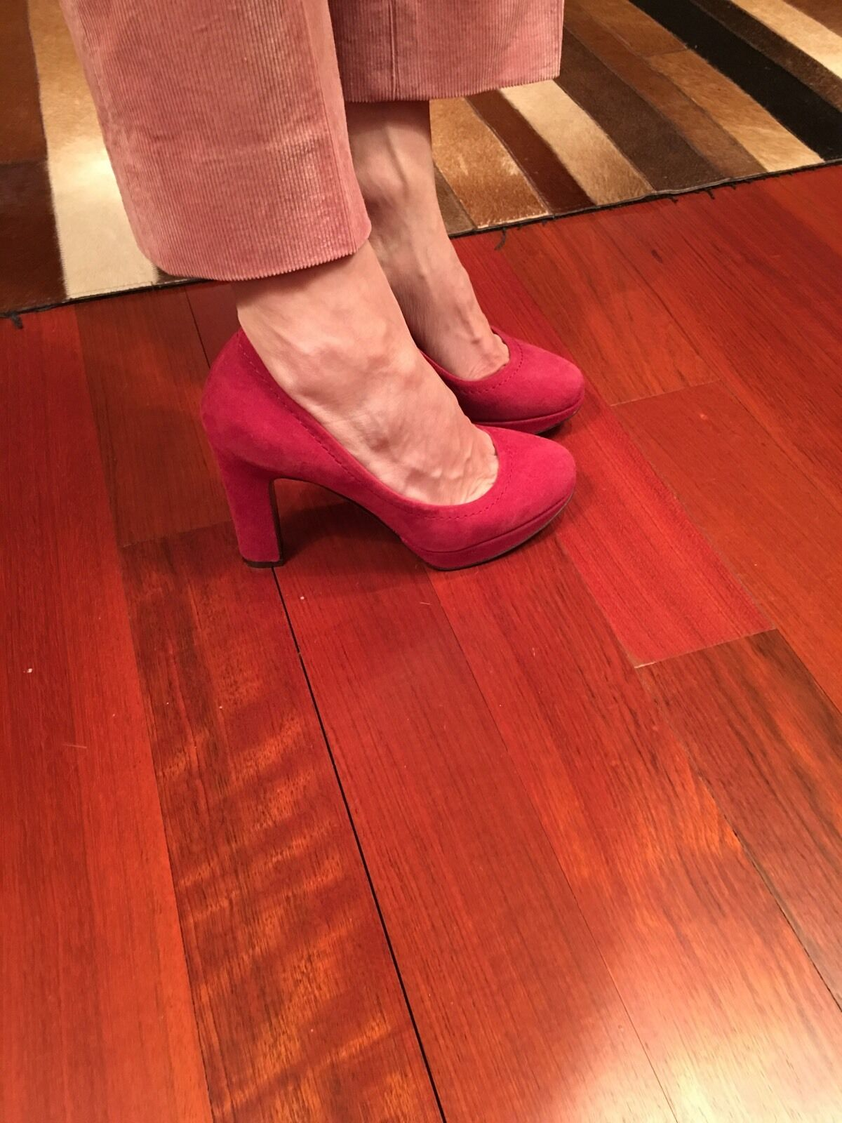 JCrew Coddington Suede Platform Pump Heels, 5.5, NEW