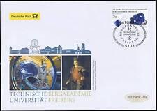 BRD 2015: TU Bergakademie Freiberg! Post-FDC der selbstklebenden Nr. 3198! 1705