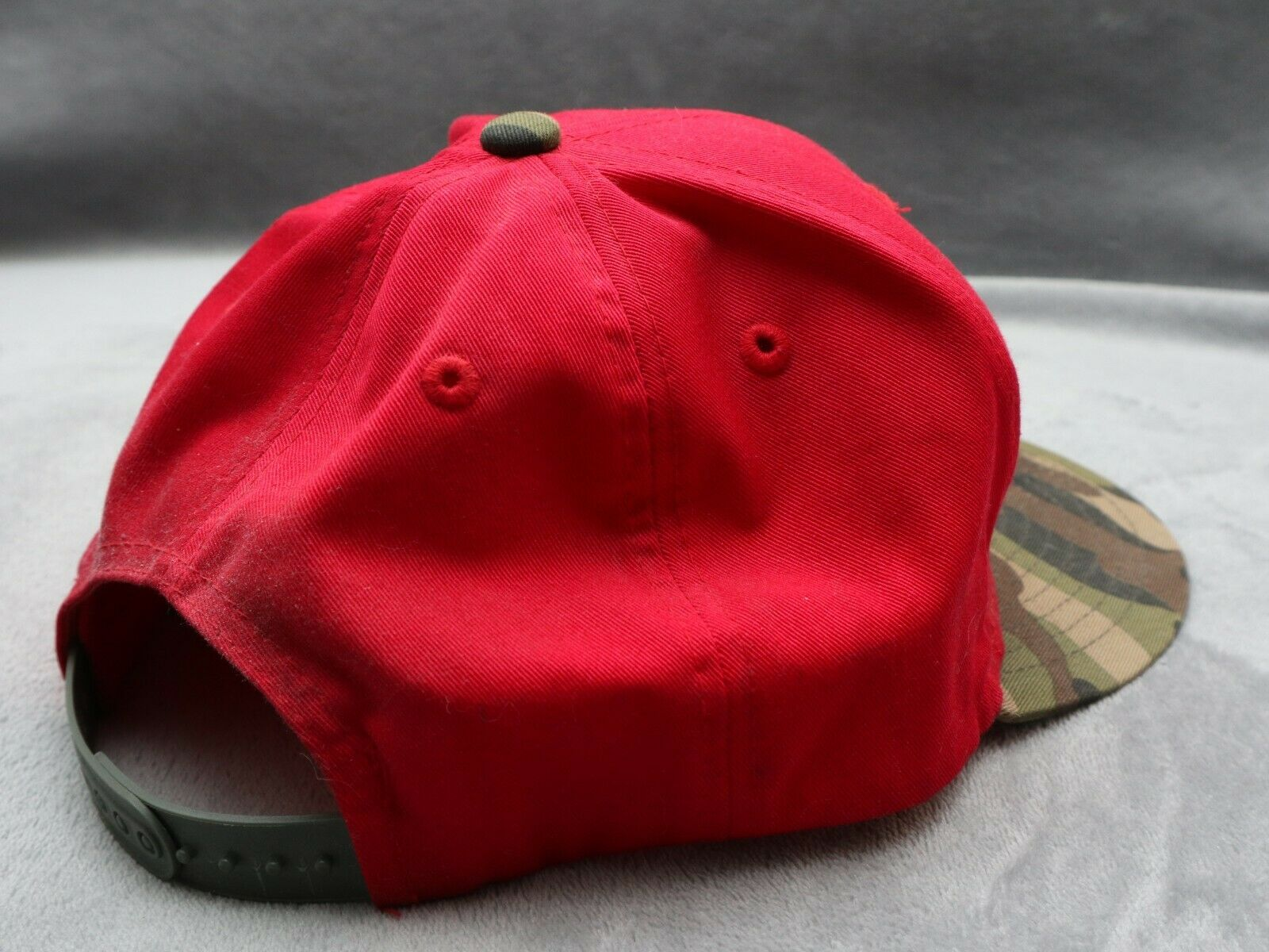 Holley Equipped red camo snapback - image 5