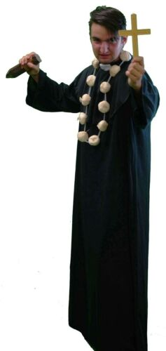 Halloween-Panto-Stage-Religious VAMPIRE SLAYER Men/'s Fancy Dress Costume SML-4XL