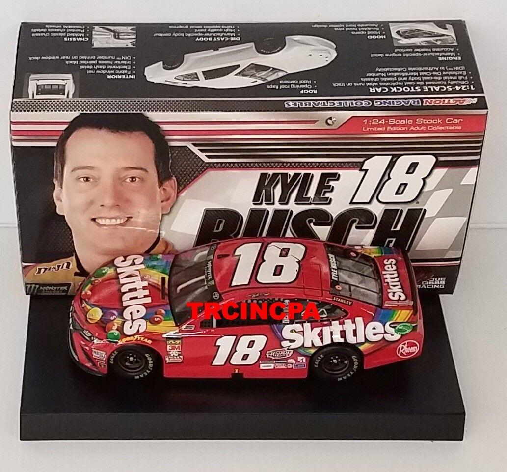 Ven a elegir tu propio estilo deportivo. Kyle Busch 2018 Lionel Lionel Lionel  18 Skittles Jugueteota Camry 1 24 Envío Gratuito  tienda de venta en línea