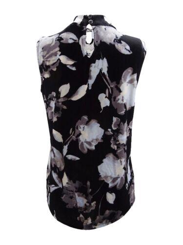 Tommy Hilfiger Women/'s Velvet Floral-Print Shell