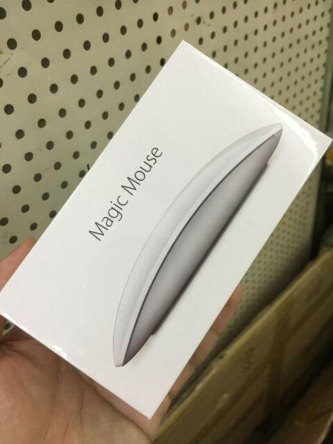 Apple Magic Mouse 2 Argent Modèle A1657 Bluetooth Souris Sans fil Original Neuf