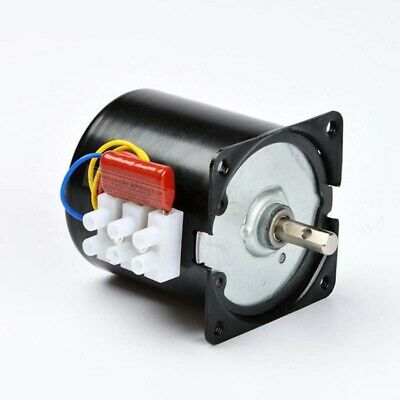 60KTYZ 1.2Rpm 14W 220-240V 50HZ 60HZ AC Synchronous Motor CW//CCW Low Speed Motor