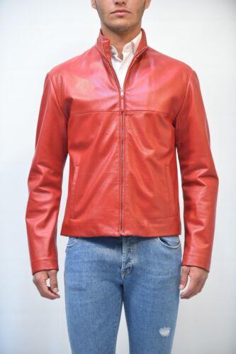 Rosso Pelli Compagnia Giubbino Delle Uomo Pelle Куртка 2018 Pe 100 2214c PTn71wnqx