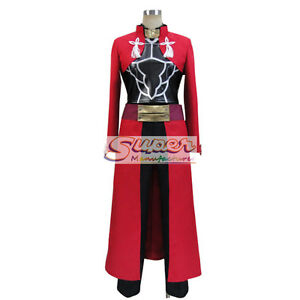 Image is loading Fate-Zero-Fate-stay-night-Unlimited-Blade-Works-  sc 1 st  eBay & Fate Zero Fate stay night Unlimited Blade Works Archer Uniform ...