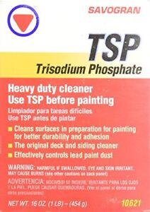 Savogran 10621 Phosphate Trisodique (tsp) 1 Lb (environ 0.45 Kg) (16 Oz (environ 453.58 G))-afficher Le Titre D'origine