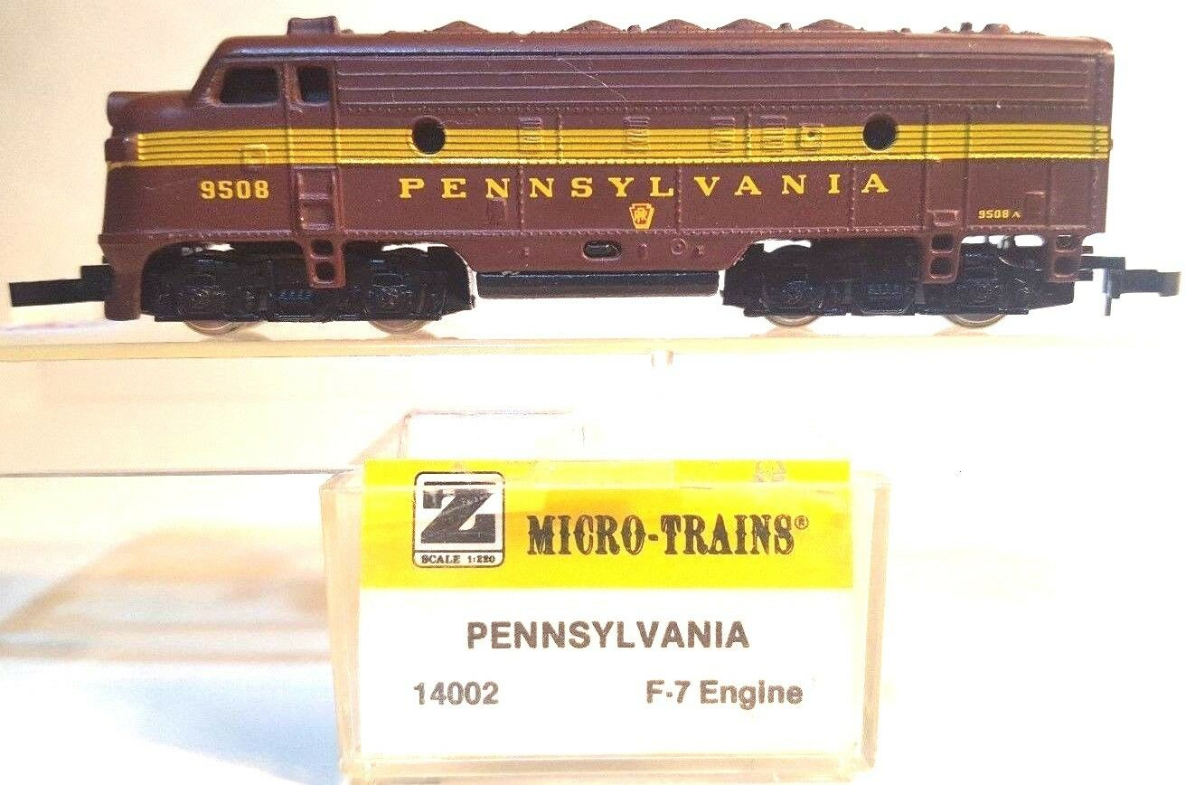 MTL Z 14002 F7 PRR Powerosso A-Unit Locomotive   9508 (Tested)