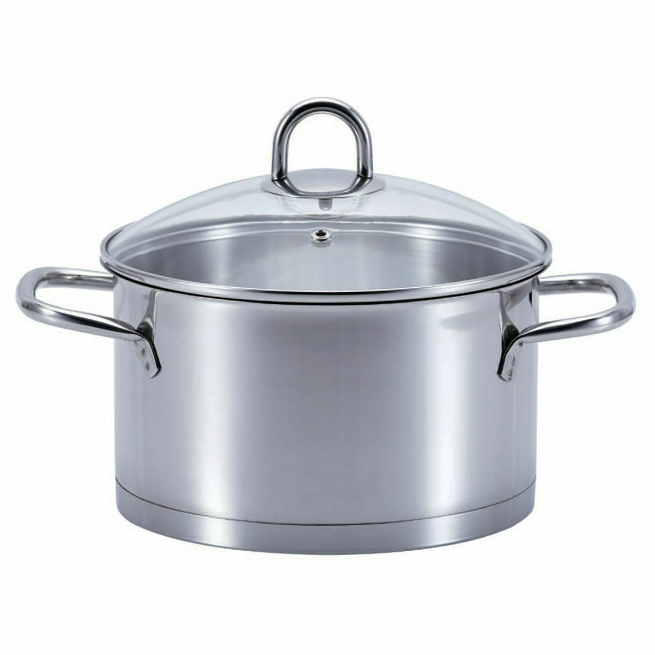 Ssw Kitchen Q pro Star Cooking Pot with Lid, Stainless Steel, Ø 24 cm, 6,1 L