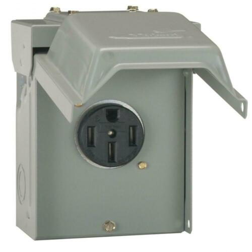 Midwest Electric Products 50 Amp Temporary RV Power Outlet U054P