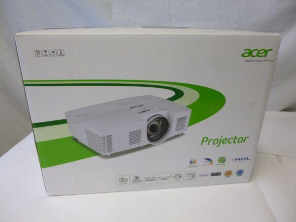 Acer H6517st Dlp-projektor Kurzdistanz Beamer 3d Full Hd 3.000 Ansi Lumen Neu Modern Ontwerp