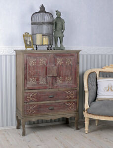 Chinois-Armoire-de-mariage-vintage-penderie-Chine-rouge