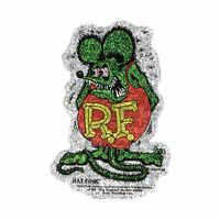 Rat Fink Crazy Flake Decal Sticker Hot Rat Rod Vw Rdf033