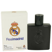 Air Val Real Madrid Black Cologne Men 3.4 Oz Eau De Toilette Spray