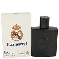 Air Val Real Madrid Black Cologne Men 3.4 Oz Eau De Toilette Spray