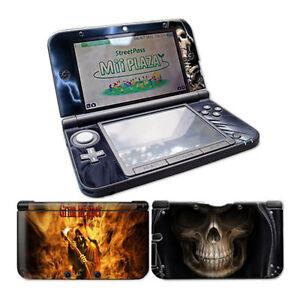 Nintendo-3DS-XL-Design-Skin-Foils-Autocollant-Film-de-protection-Ensemble