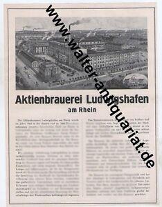 Aktienbrauerei-Ludwigshafen-Brauerei-Bier-Grosse-Werbeanzeige-anno-1926-Reklame