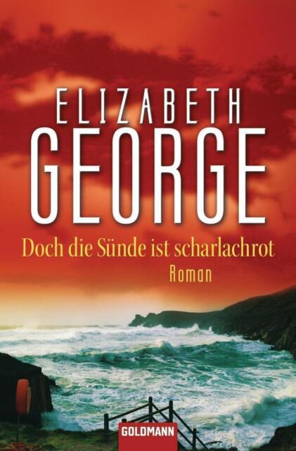 TOP TB Elizabeth George - Doch die Sünde ist scharlachrot - Lynley Nr. 15