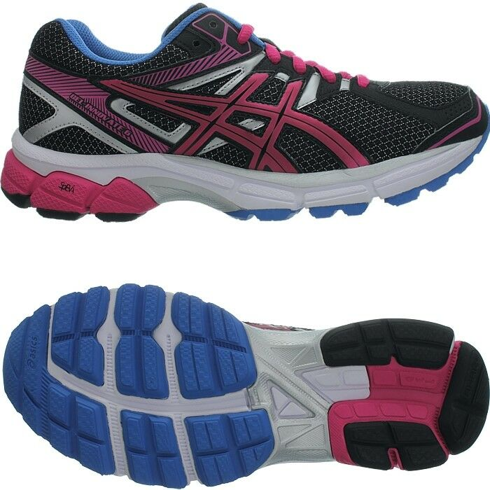 Asics Gel-Innovate 6 schwarz weiß pink blau Damen Laufschuhe Joggingschuhe NEU