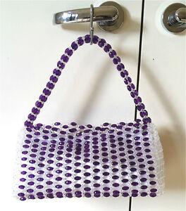 Image Is Loading Self Made Diy Bag Bead Hand Evening
