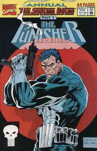 PUNISHER ANNUAL #5 VERY FINE// NEAR MINT 1992 MARVEL COMICS