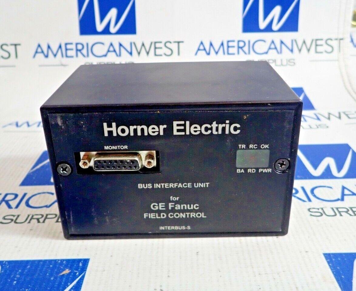 HORNER ELECTRIC HE670IBU100N INTERBUS-S FIELD PROCESSOR