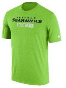 32) NIKE Seattle Seahawks DRI-FIT Jersey Tee Shirt Adult MENS MEN S ... e23ec62f1