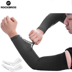RockBros Icy Oversleeve Summer UV-Protection Cycling Sport Ice Fabric Arm Cover
