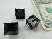 25 Foxconn Hm46020-k 4-pole Square Circuit Board Modular Connectors Solder Plugs