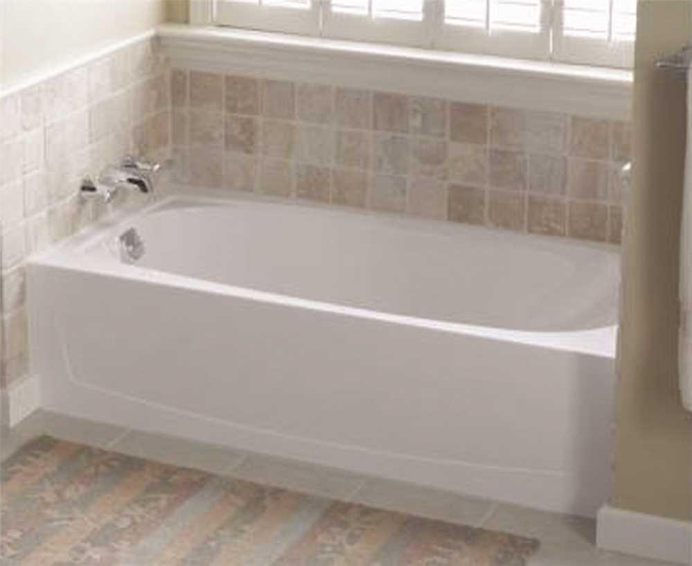 Sterling Plumbing Bathtub. Performa 5 Ft. Left Drain Bathtub in ...