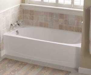 Sterling Plumbing Performa Bathtub Left Hand Drain 60x29x15in White 71041110 0