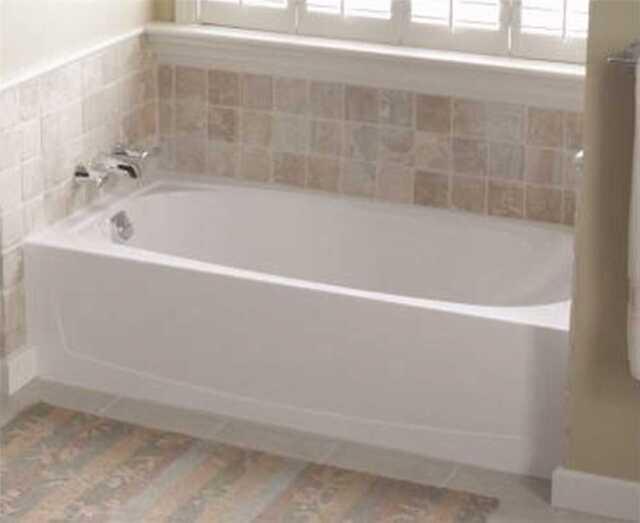 Sterling Plumbing Performa Bathtub Left Hand Drain 60x29x15in. White  71041110 0