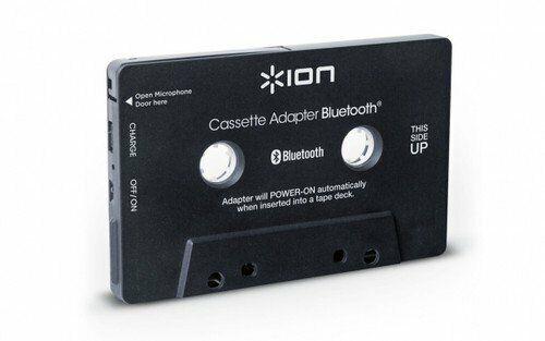 Cassette Adapter Bluetooth Built-in Microphone Music Receiver For Cassette Decks