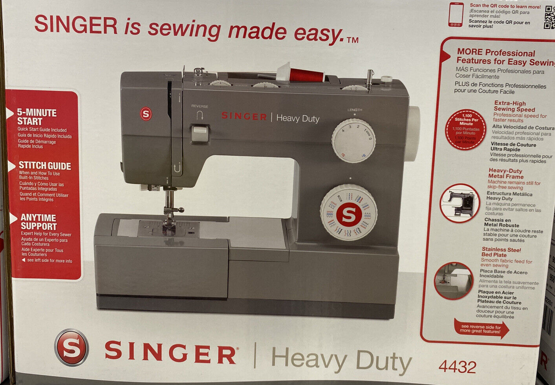 s l1600 - SINGER Heavy Duty 4432 Sewing Machine w/ 32 Built in Stich Pattern