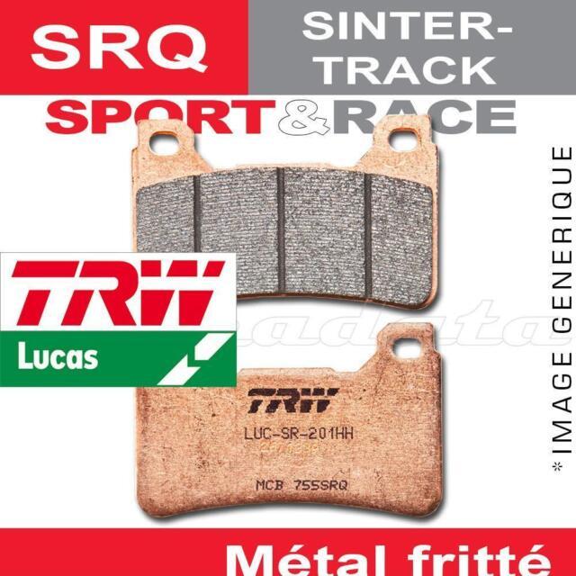 Plaquettes de frein Avant TRW Lucas MCB 611 SRQ pour Yamaha YZF 600 R6 (RJ05) 03