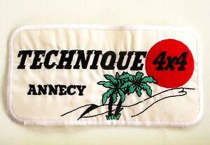 Ancien écusson ANNECY TECHNIQUE 4X4 - Collector - Multicolor wCKZfB00-08043005-565093295