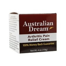 Australian Dream Arthritis Pain Relief Cream 4 oz Muscles Joints