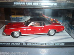 VOITURE-NEUVE-JAMES-BOND-007-CAR-COLLECTION-MERCURY-COUGAR