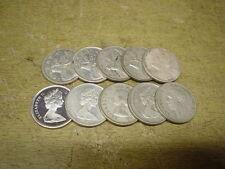 Anlegerposten , Kanada Silber , 10 x 25 Cents Elch , 58,33 g , Investorenpaket