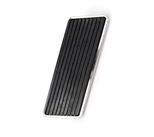 1965-68 Ford Mustang Replacement Accelerator Pedal Pad w//Stainless Steel Trim