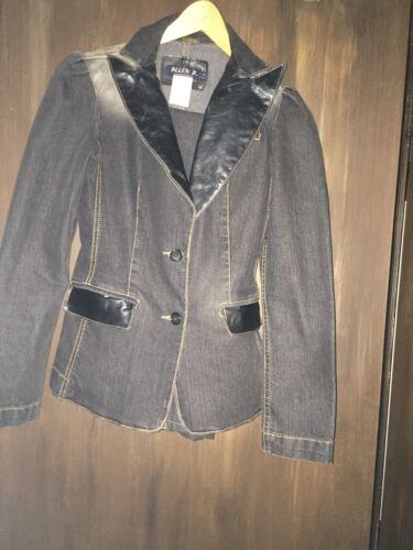 Distressed Vintage P B 28 Blazer Nwot ajusté Schwartz Jeans Sz Allen vq8rwxv