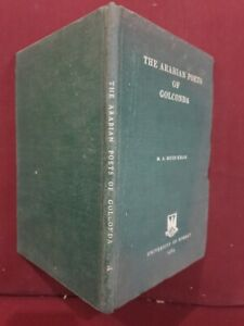 Glorious The Arabian Poets Of Golconda 163p Muid Khan Hb 1963