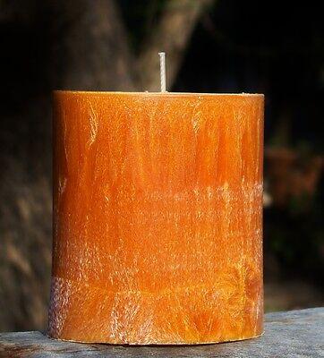 100hr AMBER MOSS /& TEAK WOOD Natural Wax Heart CANDLE MELT for Oil Burner Gift