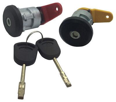 Fits Ford Courier Fiesta KA Front Right Door Lock Barrel /& 2 Keys PSLKIT6FRFO