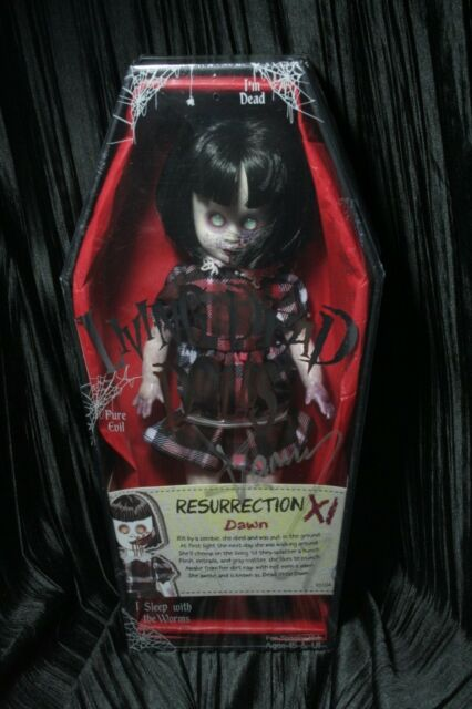 Living Dead Dolls Dawn Resurrection Series 11 Res Zombie New Signed sullenToys