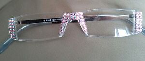 SEXY-LIGHT-ROSE-AB-made-with-SWAROVSKI-CRYSTAL-READING-GLASSES-3-50-GLASSES