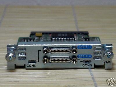 Cisco WIC-2A/S Dual-Serial Port WAN Interface Card